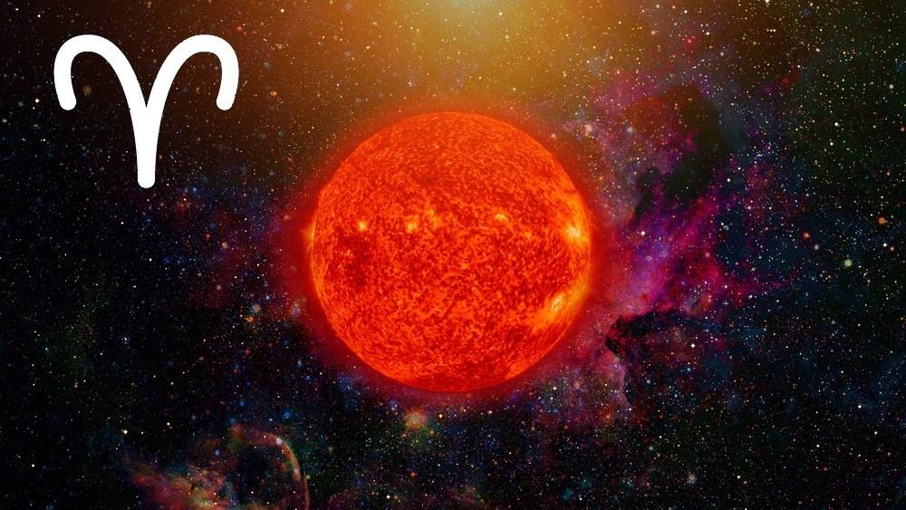 características do sol em áries