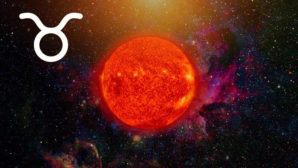 características do sol em touro