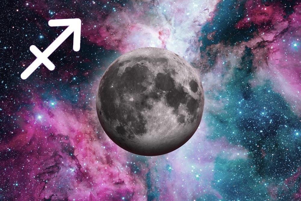 características da lua em sagitário