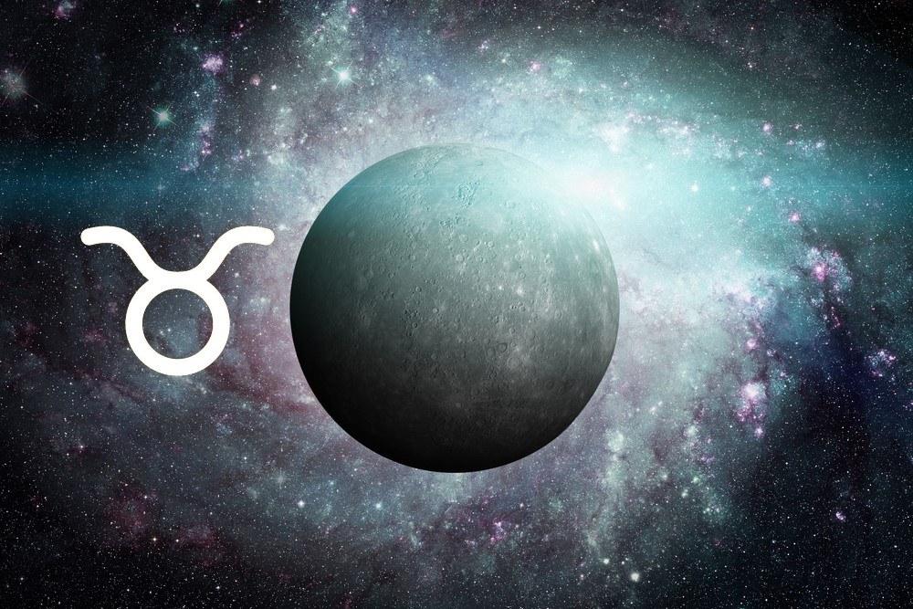 Características de Mercúrio em Touro