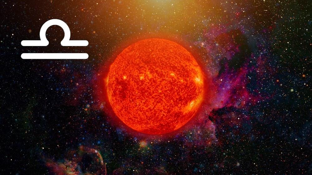 características do sol em libra