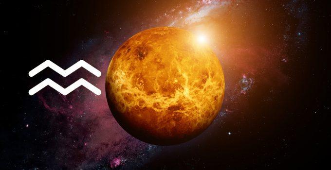 Características de Vênus em Aquário